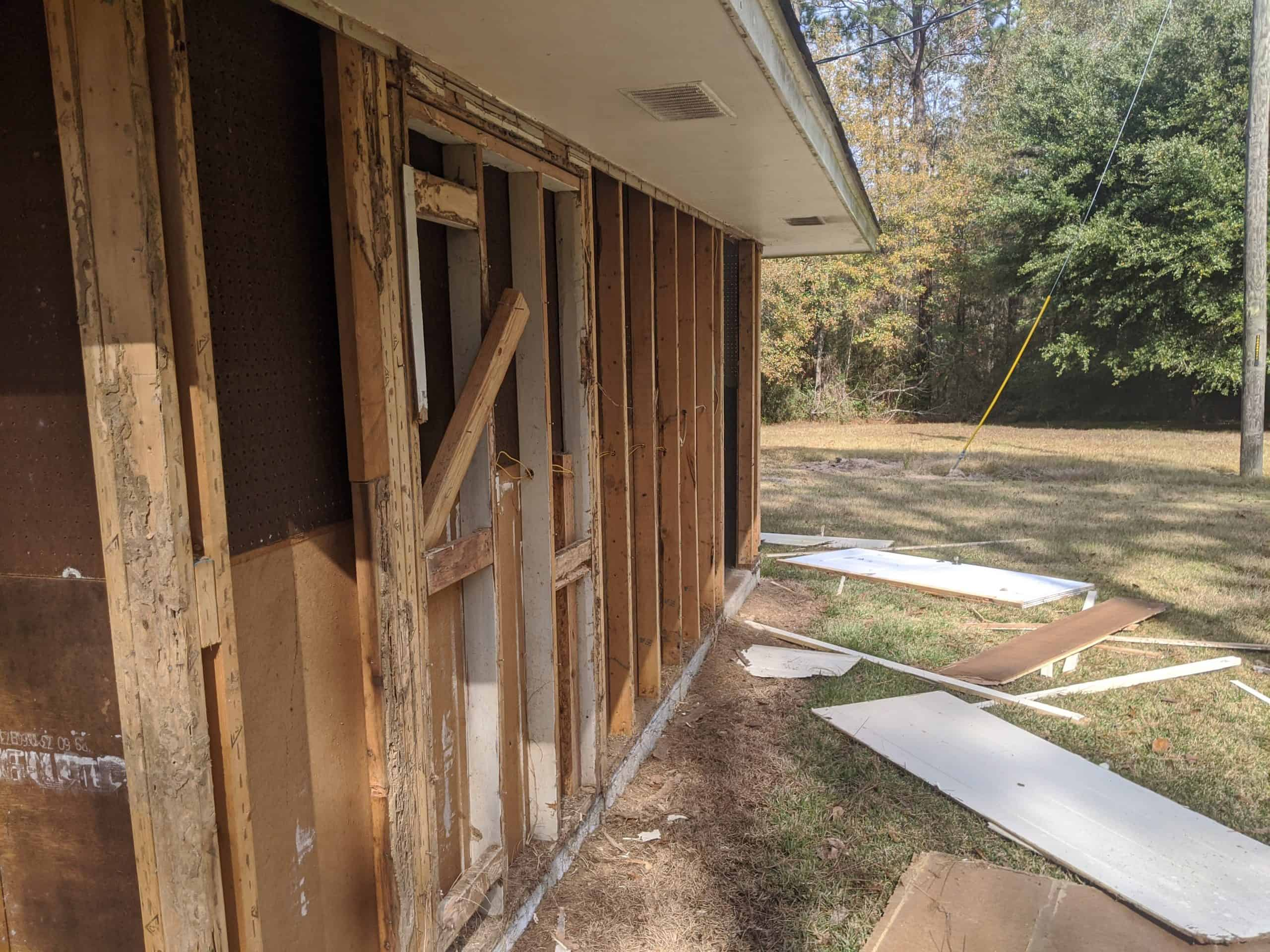 structure removal in New Orleans